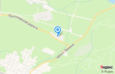 Местоположение на карте пункта техосмотра по адресу г Санкт-Петербург, г Зеленогорск, пр-кт Ленина, д 88