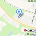 Ломоносовское дорожно-ремонтное строительное управление на карте Санкт-Петербурга