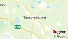 Гостиницы города Первомайское на карте