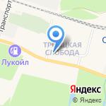 Вианор на карте Санкт-Петербурга