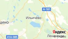 Гостиницы города Ильичево на карте