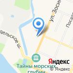 Кронштадтский морской кадетский корпус на карте Санкт-Петербурга