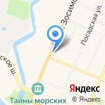 Оберег на карте Санкт-Петербурга