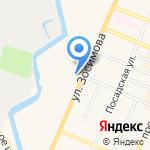 Внутригородское муниципальное образование Санкт-Петербурга на карте Санкт-Петербурга