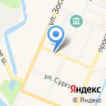 Кронштадтские бани на карте Санкт-Петербурга