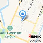Суши хаус на карте Санкт-Петербурга