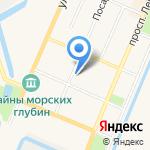 Нотариус Клыкова Л. В. на карте Санкт-Петербурга