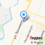Ратибор на карте Санкт-Петербурга