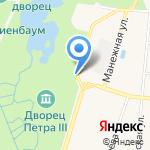 Касса на карте Санкт-Петербурга
