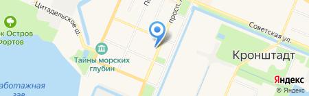Адмирал на карте Санкт-Петербурга