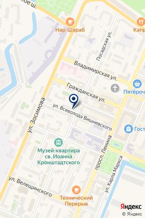 ВИТА КРОН на карте Кронштадта