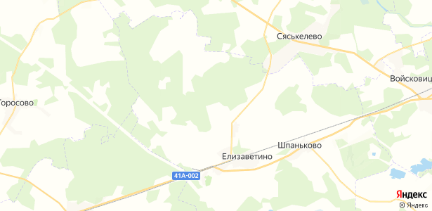 Яскелево на карте