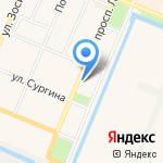 ЗАГС Кронштадтского района на карте Санкт-Петербурга