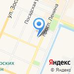 Почта России на карте Санкт-Петербурга