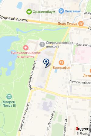 ПРОДОВОЛЬСТВЕННЫЙ МАГАЗИН ХЛЕБОКОМБИНАТ ЛАНА на карте Ломоносова