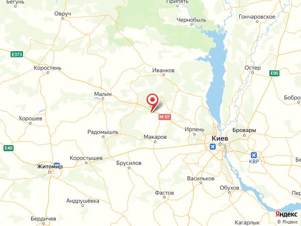 село Новая Буда на карте