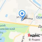Бабушкина кухня на карте Санкт-Петербурга