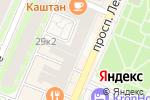 Схема проезда до компании Мясной дворик в Санкт-Петербурге