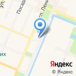 Балтийский банк на карте Санкт-Петербурга