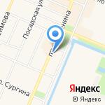 Управление МВД России по Кронштадтскому району на карте Санкт-Петербурга
