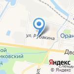 АСКОР на карте Санкт-Петербурга