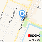 Система на карте Санкт-Петербурга