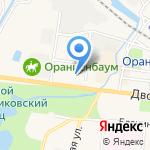 Отдел надзорной деятельности Ломоносовского района на карте Санкт-Петербурга