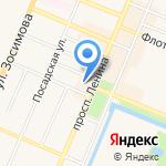 Пассаж на карте Санкт-Петербурга