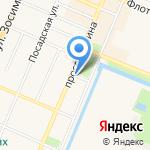 Лоскуток на карте Санкт-Петербурга