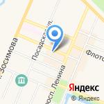 Диана на карте Санкт-Петербурга