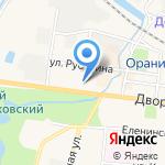 Нотариус Асламбекова Р.С. на карте Санкт-Петербурга