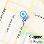 Фиалка на карте Санкт-Петербурга
