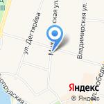 Добрый пекарь на карте Санкт-Петербурга