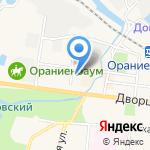 Арника на карте Санкт-Петербурга
