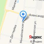 Центр физической культуры на карте Санкт-Петербурга