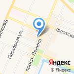 Комплексный центр социального обслуживания населения Кронштадтского района на карте Санкт-Петербурга