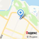 Тачки на карте Санкт-Петербурга