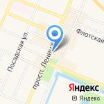 Душевная Компания на карте Санкт-Петербурга