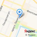 Каприз на карте Санкт-Петербурга