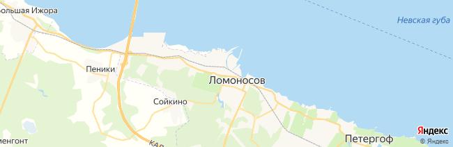 Ломоносов (Ораниенбаум) на карте