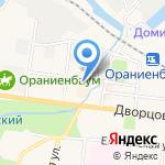 Северформ на карте Санкт-Петербурга