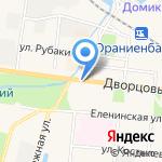 Прокуратура Петродворцового района на карте Санкт-Петербурга