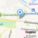 Сеть обувных магазинов на карте Санкт-Петербурга