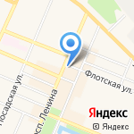 Дагвино на карте Санкт-Петербурга