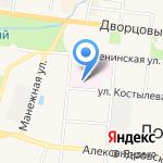 Петергоф на карте Санкт-Петербурга