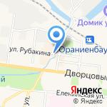 Магазин чулочно-носочных изделий и нижнего белья на карте Санкт-Петербурга