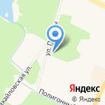 Бис на карте Санкт-Петербурга