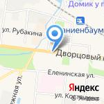 Магазин текстиля и товаров для рукоделия на карте Санкт-Петербурга