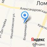 Центр услуг на карте Санкт-Петербурга