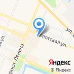 Сеть цветочных магазинов на карте Санкт-Петербурга